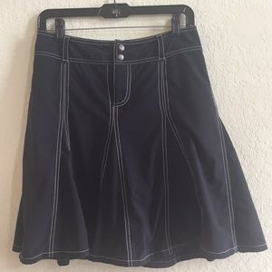 Athleta black Whatever skort size 6